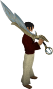 Armadyl godsword equipped