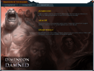 Dimension of the Damned (Survival Tips) interface