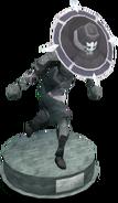 Duellist's cap (tier 3) statue
