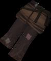 Farmer's legwear detail