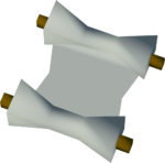 Hazelmere's scroll detail