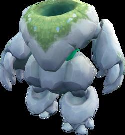 Headless moss golem