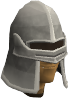 Iron full helm chathead