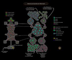Masmorra de Extermínio de Pollnivneach mapa interno