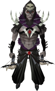 Ravenskull outfit equipped (male)
