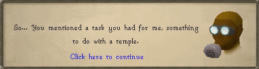 Temple Task