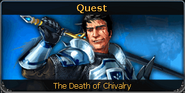 The Death of Chivalry noticeboard