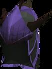 Blessed dragonhide coif (Zaros) detail