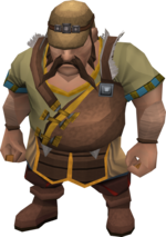 Cart conductor (Dwarven Mine)