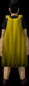 Fremennik cloak (gold) equipped