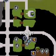 Meilyr Clan map