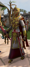Second-Age mage armour equipped