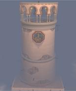 Abadia de Citarista Torre do Relógio