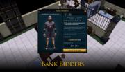 Bank Bidders concept