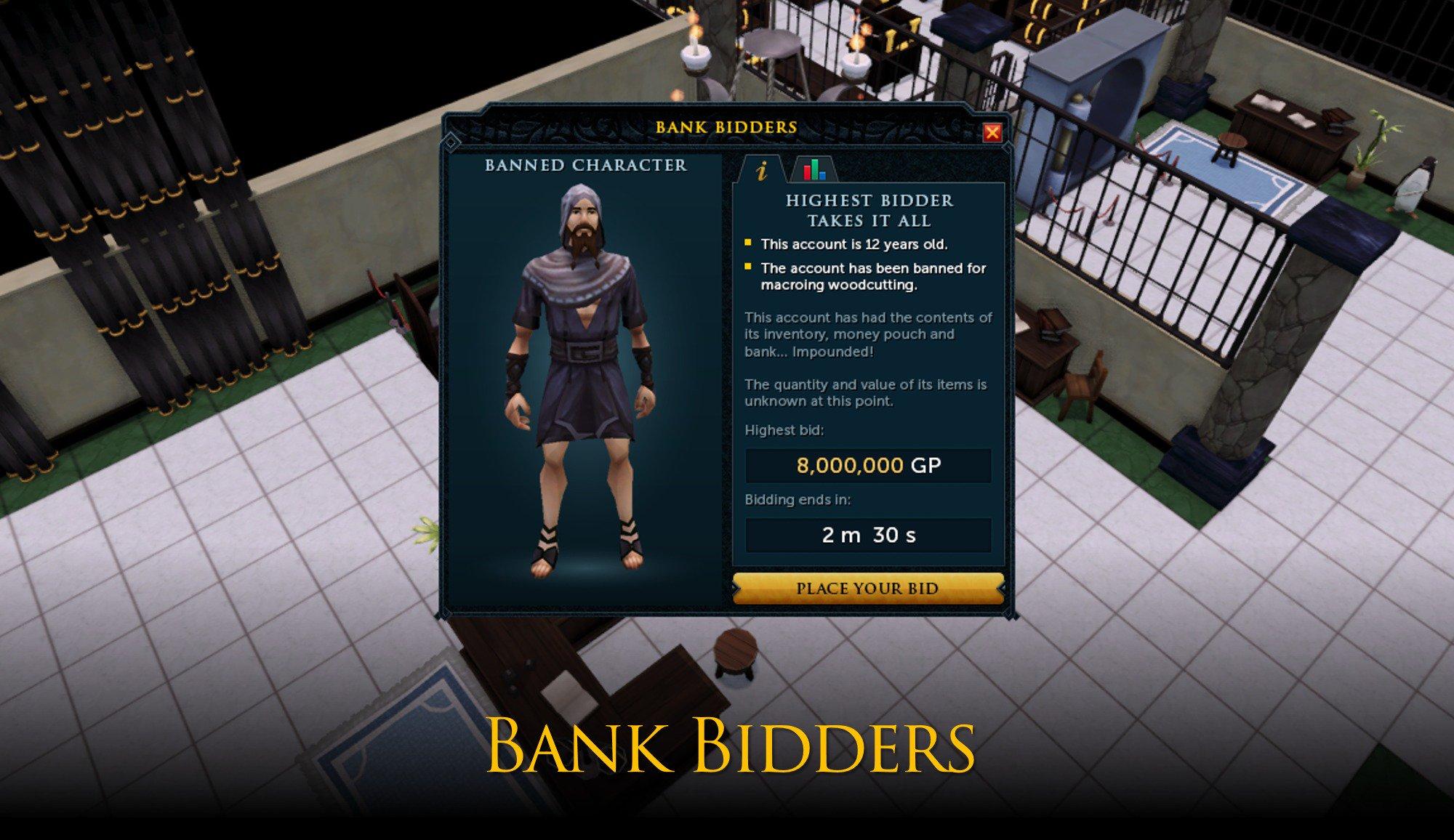 Bank Bidders | RuneScape Wiki | FANDOM powered by Wikia