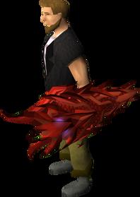 Dragon kiteshield (sp) equipped