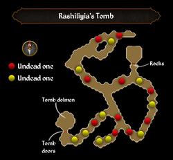 Rashiliyia's Tomb map