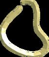 Shiny necklace detail