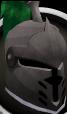 Steel heraldic helm (Misthalin) chathead