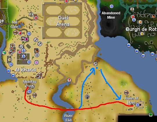 Uzer route