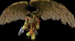 Armadylean bodyguard (aviansie melee)