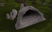 Hazeel Cult cave entrance