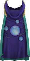 Hooded divination cape (t) detail