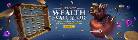 Improved Wealth Evaluator head banner