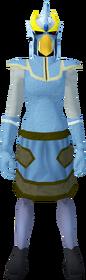 Mighty slayer helmet (c) (yellow) equipped