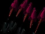 Red topaz bakriminel bolts (e)