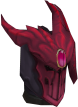 Refined Anima Core helm of Zamorak chathead