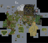 Runescape Earthquake map