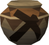 Strong mining urn (r) detail