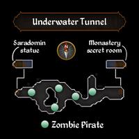Underwater Tunnel map