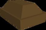 Barra de bronze detalhe