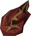 Flame fragment (farmer) detail