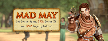 Mad May Banner