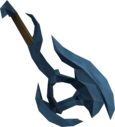 Off-hand rune battleaxe detail
