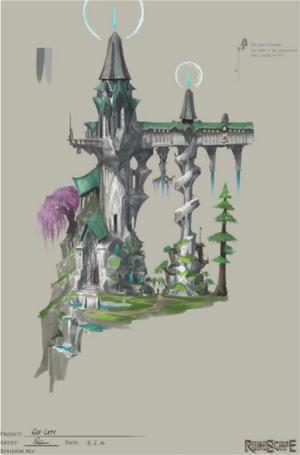 Prifddinas concept art 3