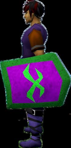 File:Rune kiteshield (Misthalin) equipped.png