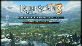 Tela de Carregamento do RuneScape 3