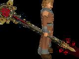 Zamorak Tuska spear
