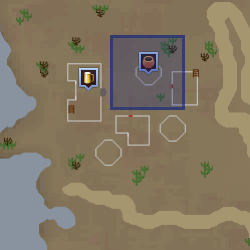 Bandit shopkeeper location