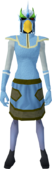 Mighty slayer helmet (f) (green) equipped.png