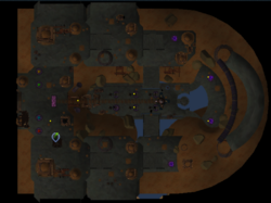 The Empty Throne Room map