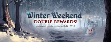 Winter Weekends banner 2