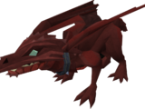 Baby red dragon (POH)
