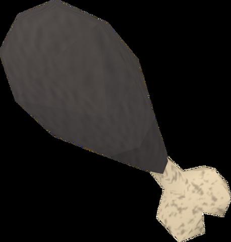 File:Burnt turkey drumstick detail.png