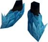 Crystal boots detail