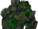 Emerald golem gloves